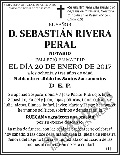 Sebastián Rivera Peral